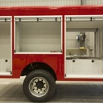 side view of fire engine