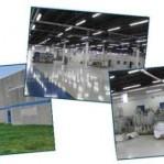 SKF Aeroengine collage of building interior